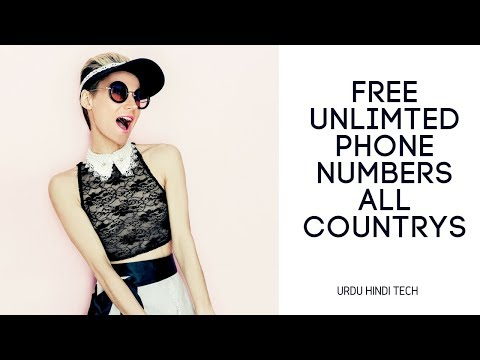 Get Unlimted Free Phone Numbers - UK,Romania,USA,Spain,France