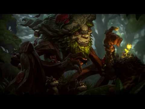 LoL Login Screen - Ivern - (Custom Music) - [OLD CLIENT UNAVAILABLE]