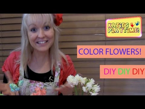 How to Color Flowers