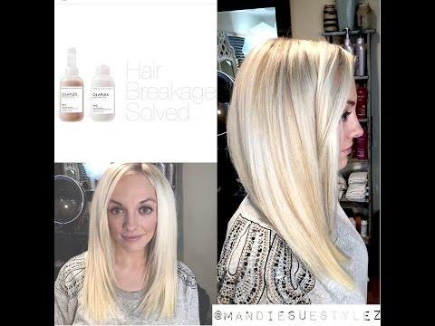 Olaplex Tutorial | Platinum Blonde | NO BREAKAGE
