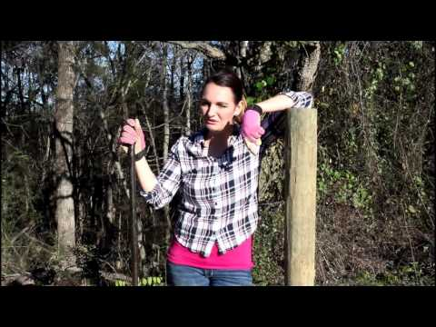 How to Build Fence Posts for Animal Pastures