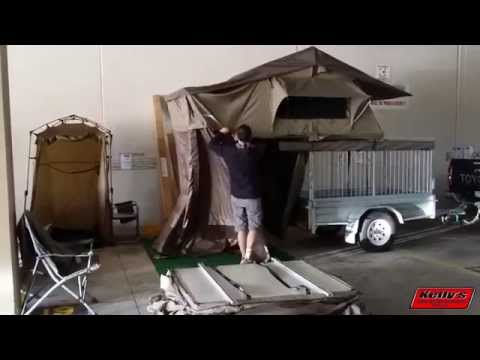 Darche Panorama 2 Roof Top Tent Set Up