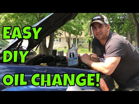 How To Do an Oil Change on a 1999-2004 Jeep Grand Cherokee 4.0