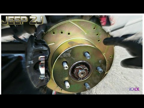 FRONT ROTORS & BRAKE PAD REPLACEMENT (1993-1998 JEEP GRAND CHEROKEE)