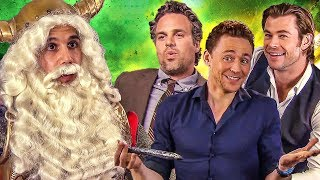 THOR Ragnarok - Best of Chris Hemsworth, Tom Hiddleston & Mark Ruffalo