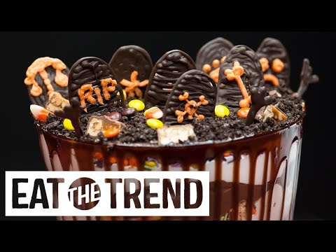 Halloween Candy Graveyard | Eat the Trend