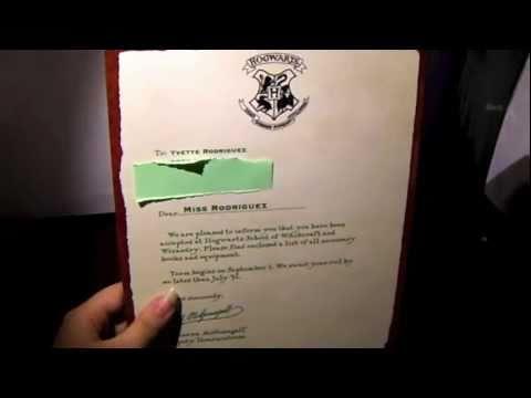 WBShop - Hogwarts Acceptance Letter - Review