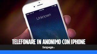 Numero privato da iPhone: impostare e chiamare con l'anonimo