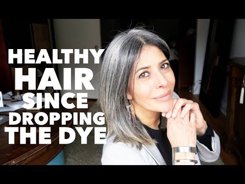 Healthy Hair and More without dye | Rocking Fashion & Life in my 50's