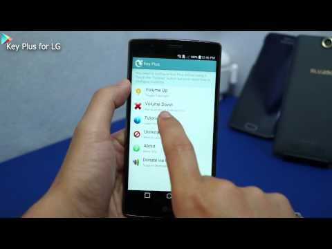 Key Plus for LG - Android app to control volume button