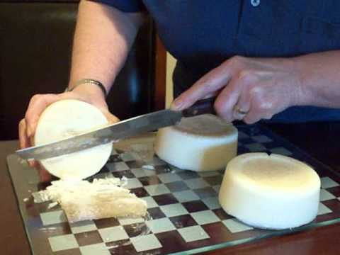 Soap making Homemade soap handmade natural, old fashion using beef tallow