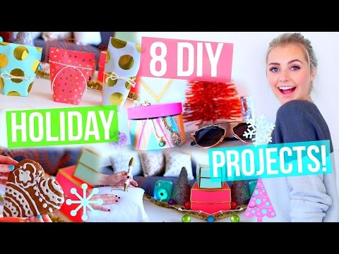 8 DIY Holiday Ideas! Room Decor, Gift Ideas & More! | Aspyn Ovard
