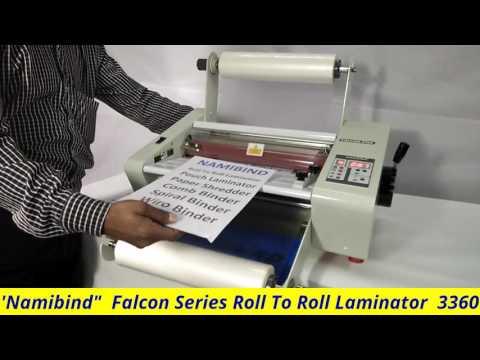 Namibind high grade roll to roll laminator  3360