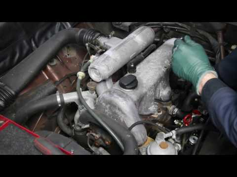 How to Cosmetically Restore an Old Cars Engine Compartment Part 1