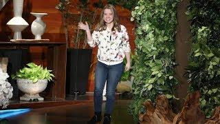 Irish Teen Serenades Her Idol, Ellen!