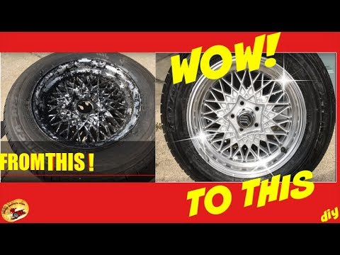 HOW To RE-CONDITION Wheels to Brand NEW AGAIN