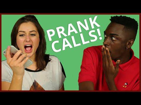PRANK CALLING AWESOMENESSTV! w/ Rickey Thompson & Ebony Day