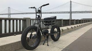Lithium Cycles /// SUPER 73 Foggy Morning Downhill Run [HD]