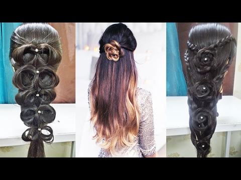 FLOWER BRAID🌟 MAYON HAIRSTYLES🌟INDIAN/PAKISTANI/ASIAN BRIDAL HAIRSTYLES