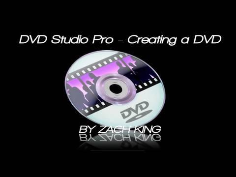 DVD Studio Pro - Creating a DVD