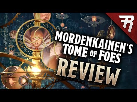 D&D review: Mordenkainen's Tome of Foes (Dungeons & Dragons 5e accessory)