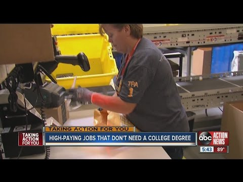 High-paying jobs that don't require a college degree