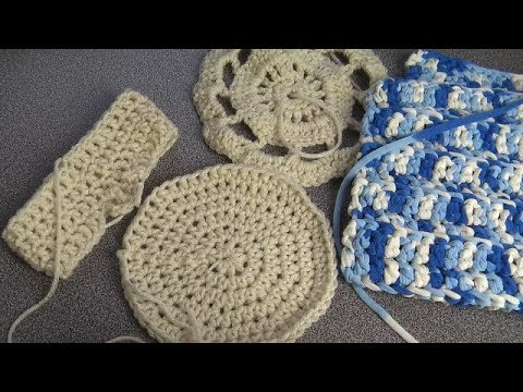 How to Crochet, weaving in ends