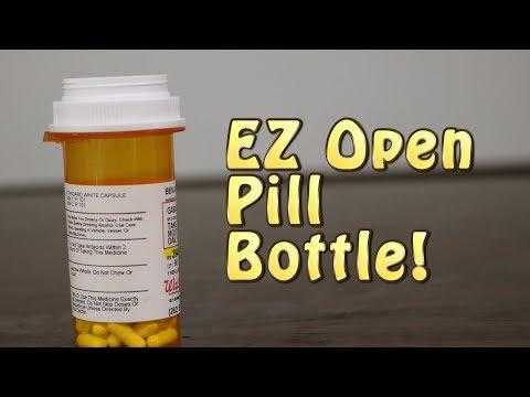 Easy Open Pill Bottles