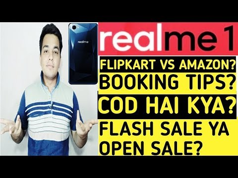 Oppo Realme 1 Buying Tips & My 1st Sale Experience!! [Hindi]