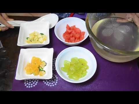 Summer recipe : बच्चों के लिए फलों के पॉप्सिकल्स/ कैंडी | Fruit popsicles for kids
