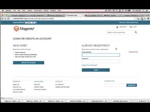 Magento Tutorial | How To Edit Top Cart Links With XMl