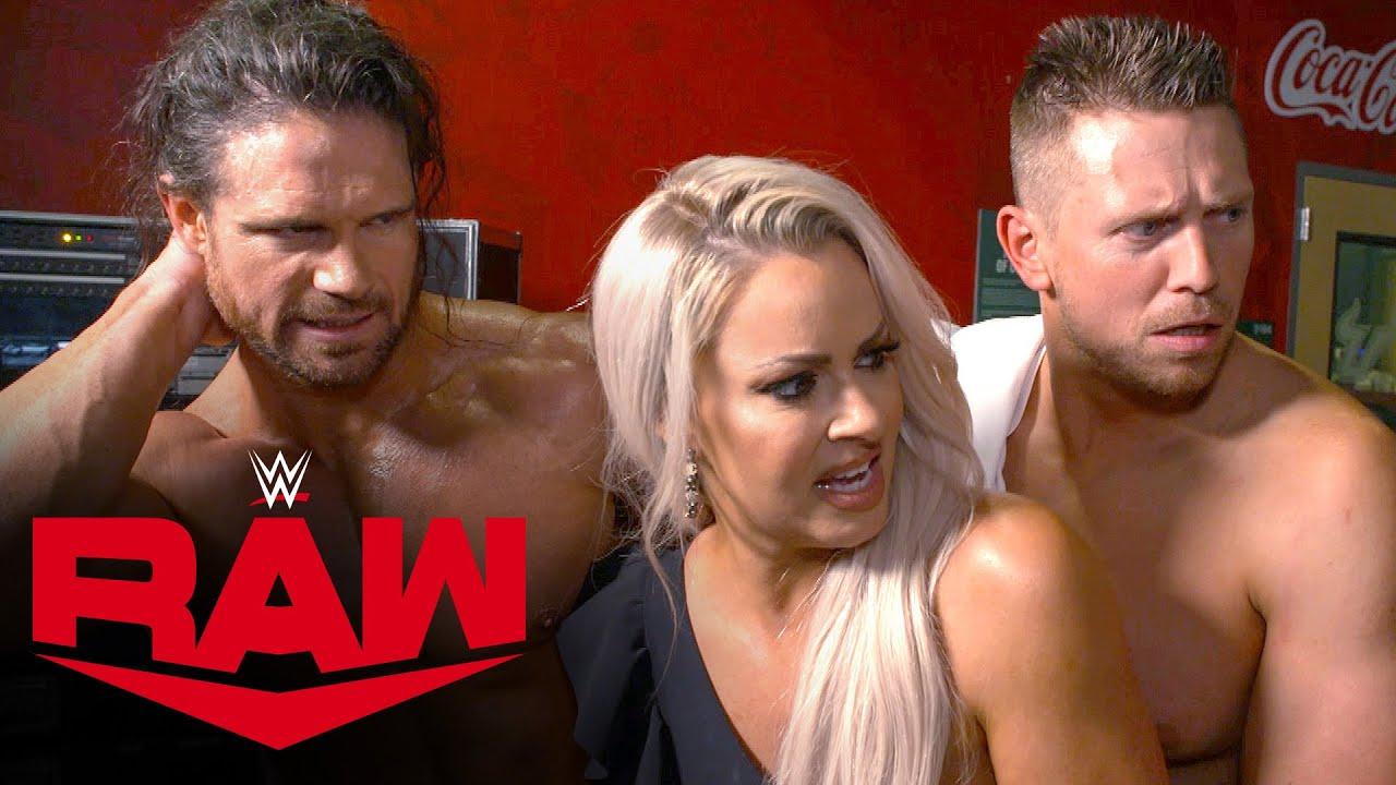 Miz, Maryse & Morrison shuffle back to the locker room: WWE Network Exclusive, April 12, 2021