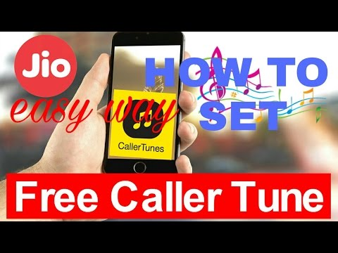 How to keep caller tune for Jio number easy way