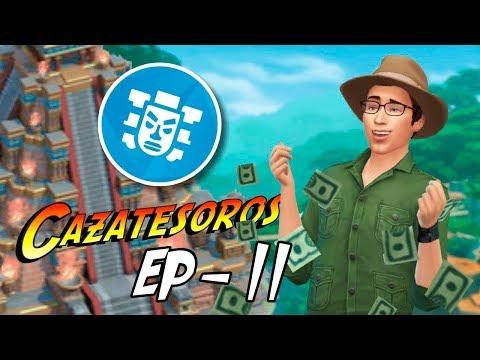 LOS SIMS 4 AVENTURA EN LA SELVA - EP 11   BRANDY EL GATO GUARRO
