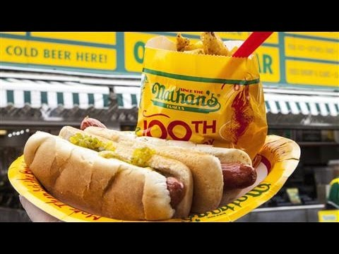 Hot Dog History Born in Coney Island