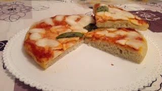 La ricetta della Pizza margherita  fatta in casa
