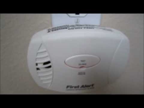 First Alert carbon monoxide detector walk-thru video