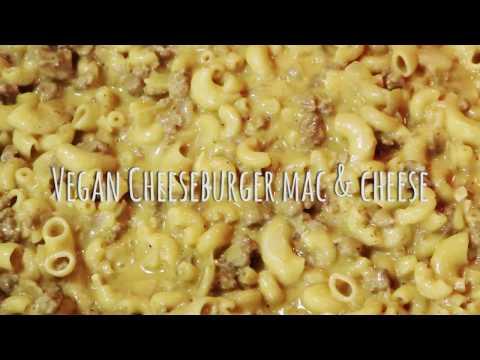 HOW TO MAKE VEGAN CHEESEBURGER MAC & CHEESE!!