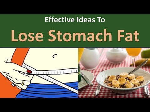 Effective Ideas to Lose Stomach Fat.|Eat Lots of Dietary Fiber.