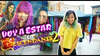 ESTARÉ EN DESCENDIENTES 2 de DISNEY CHANNEL!! *sentimental* | Palomitas Flow