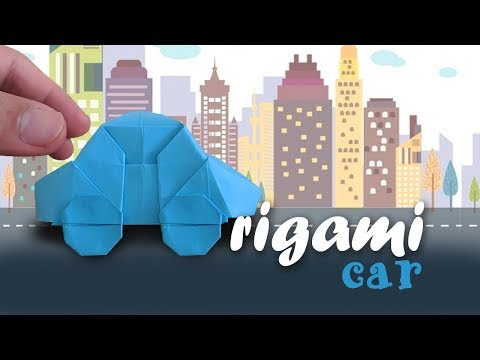 How to make Origami Car 🚗