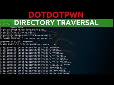 DotDotPwn - Directory Traversal Fuzzing