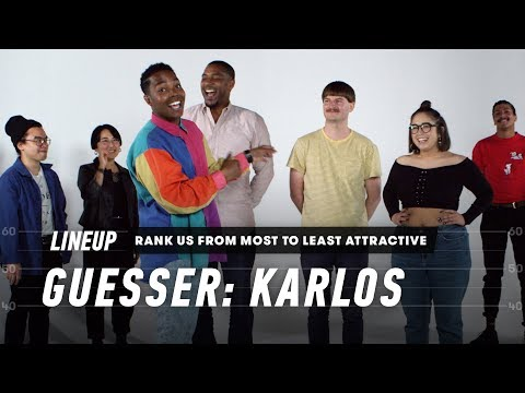 Rank a Group of Strangers from Most to Least Attractive (Karlos) | Lineup | Cut