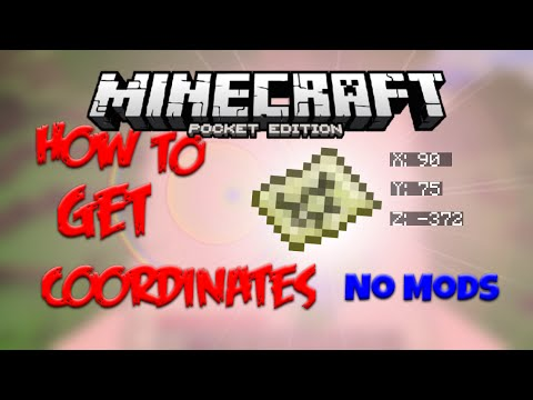 HOW TO GET COORDINATES IN 0.16.0 - No Mods! Minecraft PE