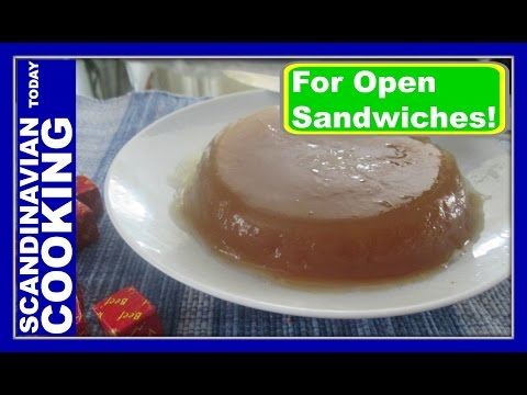 Sky - How to Make Aspic Jelly for Danish Open-faced Sandwiches