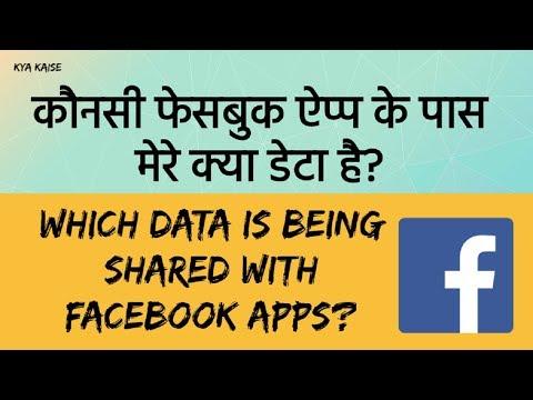 Facebook Data Scandal. Mera kya data Facebook Apps ke saath share kiya gaya hai? Hindi video
