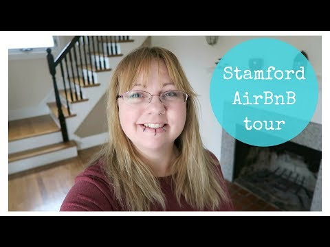 A tour of our AirBnB in Stamford, Ct.