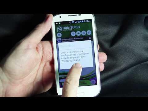 Cómo desactivar la última hora de conexion de WhatsApp desde un Android