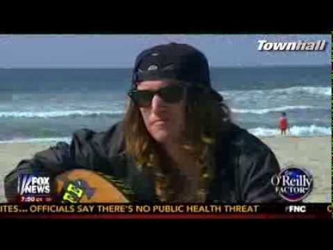 Jesse Watters Meets Food Stamp Surfer Dude From California