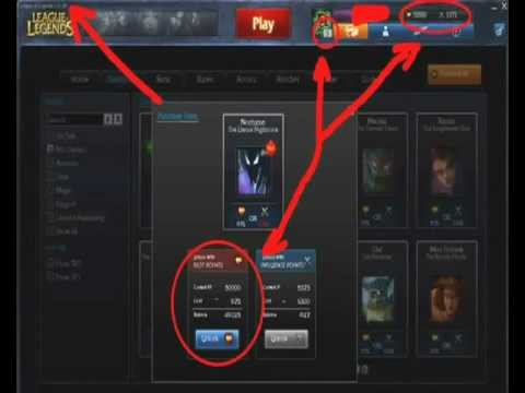League of Legends New RP Hack: Free 50,000 RP! Compatible with Preseason 3 Patch (04/12/12)